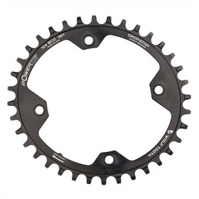 Wolf Tooth Elliptical Chainring 12-speed Ø104mm BCD black